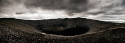 Iceland Crater Panoramic