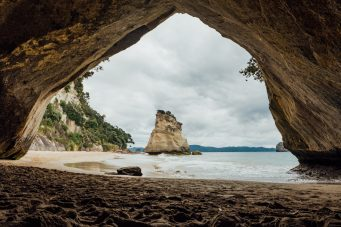 Cathedral Cove Landscape Photo